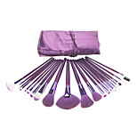 21 Makeup Brushes Set Squirrel / Bristle / Mink Hair / Goat Hair Face / Lip / Eye