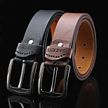 Men's Concise Leather Belt