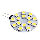 G4 7 W 15 SMD 5050 480 LM Warm White/Cool White Spot Lights DC 12 V