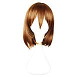 Cosplay Wigs Cosplay Cosplay Brown Short Anime Cosplay Wigs 33 CM Heat Resistant Fiber Female