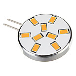 G4 2 W 9 SMD 5730 450 LM Warm White/Cool White Spot Lights AC 12 V