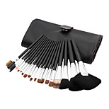 18 Makeup Brushes Set Nylon / Bristle / Others / Mink Hair / Goat Hair Face / Lip / Eye