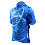 Jaggad Men Summer Polyester Spandex Rear Pocket Cycling Jersey