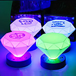 Cone Shape Colorful ABS LED Night Light(Random Color)