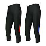 Running 3/4 Tights / Compression Clothing / Bottoms Women's Breathable / Quick Dry / Anatomic Design / Wearable / Antistatic / Compression