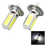 2 Stück Smart LED Glühlampen H4/H7/T20 20 W 1000-1200 LM 6500 K 4 COB Kühles Weiß DC 12/DC 24 V