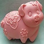 Pig Shaped Mold Cozer, W9cm x L8cm x H3.8cm