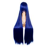 Naruto Shippuden Hinata Hyuga Cosplay Wig Blue Long Party Wig