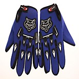 Cycling Gloves to Keep Warm Gloves All Silicone Cushion Antiskid Protection Refers to Blue