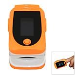 SPortguard dedo Oxímetro de Pulso SpO2 Heart Rate Monitor - Orange