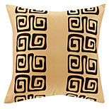 Polyester Pillow Cover , Textured Traditional / Office/Business