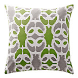 TWOPAGES® Cotton Pillow Cover/Pillow With Insert Nature Modern/Contemporary