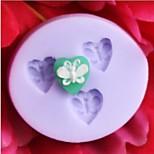 a forma di farfalla stampo cuocere la torta fondente, l3.5cm * w3.2m * h0.6cm