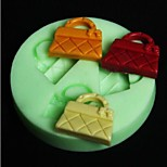 Handbag Shaped Bake Fondant Cake mold,L6.5cm*W6.5m*H0.8cm