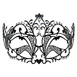 Mask Princess Festival/Holiday Halloween Costumes Black Solid / Lace Mask Halloween / Carnival Unisex Metal