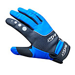 NUCKILY Waterproof Windproof Slide-Proof Thermal Blue Cycling Gloves