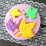 Four Leaves Shaped Bake Fondant mould,L2.8