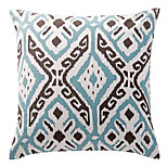 TWOPAGES® Cotton Pillow Cover/Pillow With Insert Geometric Modern/Contemporary