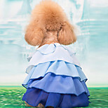 Pet Clothing Summer Princess Chiffon Cake Skirt for Pets Dog