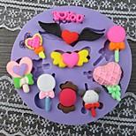 Bebé de juguete con forma de molde fandant Bake, L9cm * W9cm * H1cm
