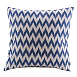 Cotton/Linen Pillow Cover , Chevron Country