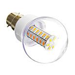 Lâmpada Espiga E14/B22 6 W 420 LM 3000 K Branco Quente/Branco Frio 42 SMD 5730 AC 220-240 V