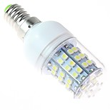 White Light LED Bulb, E14 4W 60SMD3528 5500-6500K 220V
