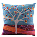 Cotton/Linen Pillow Cover , Nature Country