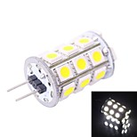 G4 4W 200LM 7000K 27x5050 White LED Light Bulb(DC 12V)