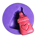 Feeding Bottle Baking Fondant Cake Chocolate Candy Mold,L2.8cm*W2.8cm*H0.7cm