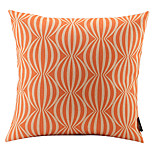Orange Watermelon Linked Cotton/Linen Decorative Pillow Cover