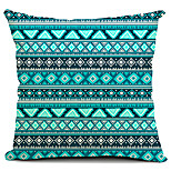 Cotton/Linen Pillow Cover , Geometric Modern/Contemporary