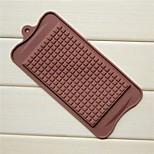 moldes grandes de chocolate Chocolate de forma, de silicona de 22,5 × 10,5 × 0,5 cm (8,9 × 4,1 × 0,2 pulgadas)
