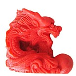 Chinesisches Sternzeichen Drache Back Fondantkuchen Schokolade Süßigkeiten Schimmel, l7cm * w6.6cm * h2.7cm