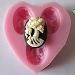 Skull Baking Fondant Cake Chocolate Candy Mold,L5.8cm*W5.4cm*H1.1cm