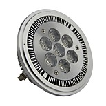 GU10 7 W 7 High Power LED 700LM LM Warm White AR Dimmable Spot Lights AC 220-240/AC 110-130 V