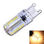 Lampadine a pannocchia 64 SMD 3014 G9 3 W 180 LM Bianco caldo/Luce fredda AC 220-240/AC 110-130 V