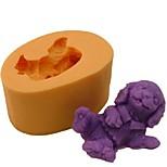 Dog Animal Baking Fondant Cake Chocolate Candy Mold,L6.5cm*W4.5cm*H3cm