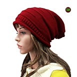 Unisex Wool Blend Beanie/Slouchy , Cute/Casual Winter