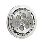 GU10 7 W 7 High Power LED 770LM LM Cool White AR Dimmable Spot Lights AC 220-240/AC 110-130 V