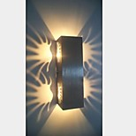 2W Modern Led Wall Light with Scattering Light Sci-fi Design