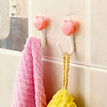 2 pièces Type d'adsorption coeur - en forme de crochet