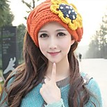 Women Wool Blend Beanie/Slouchy , Cute Winter