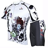 PALADIN Bike/Cycling Jersey + Shorts / Clothing Sets/Suits Men's Short Sleeve Breathable / Ultraviolet Resistant / Quick DryPolyester /