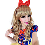 Cosplay Wigs Princess / Fairytale Festival/Holiday Halloween Costumes Brown / White Solid Wig Halloween / Carnival Female
