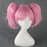 Cosplay Wigs Cosplay Cosplay Pink Short Anime Cosplay Wigs 35 CM Heat Resistant Fiber Female