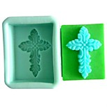 Cross Fondant Cake Chocolate Resin Candy Silicone Mold,L7.5cm*W6cm*H4cm