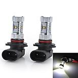 2 Stück Smart LED Glühlampen H4/H7/9005 30 W 1500-2000 LM 6500 K 6 High Power LED Kühles Weiß DC 12/DC 24 V