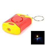 Personal Guard Safety Security Siren Alarm with LED Flashlight with 3pcs AG13