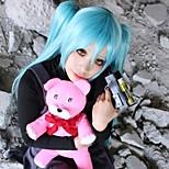 Cosplay Wigs Cosplay Cosplay Blue Medium Anime Cosplay Wigs 60 CM Heat Resistant Fiber Female